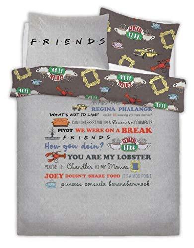 Ensemble de lit double Friends