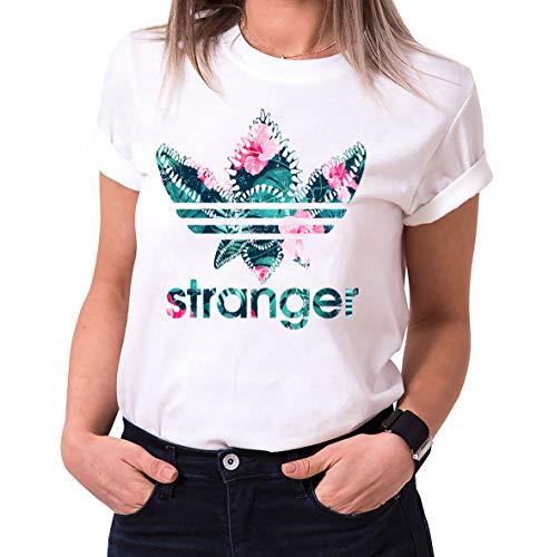 T-shirt Stranger Things femme col rond