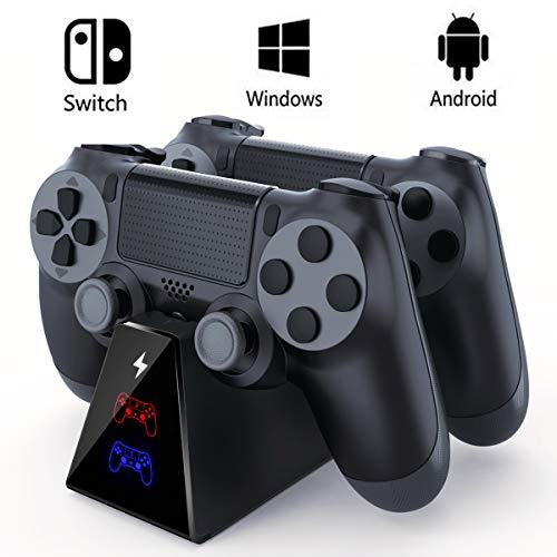 Extsud : Chargeur PS4 Dual chargeur de manette