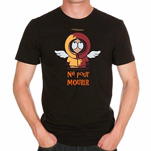T-shirt South Park né pour mourir