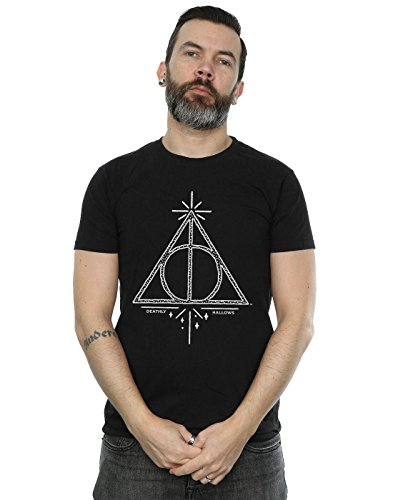 Harry Potter Homme Deathly Hallows Symbol T-Shirt