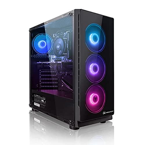 Megaport PC Gamer Platin AMD Ryzen 5 3600 6X 3,60 GHz • GeForce GTX1660 Super 6Go • Windows 10 • 16Go DDR4 • 240Go SSD • 1To • WiFi • USB3.0 Unité Centrale Ordinateur de Bureau PC Gamer Nomai
