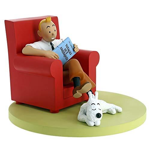 Figurine de collection Moulinsart Tintin et Milou à la maison 46404 (2018)