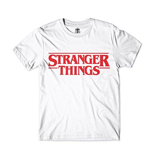 T-shirt Stranger Things unisexe logo de la série