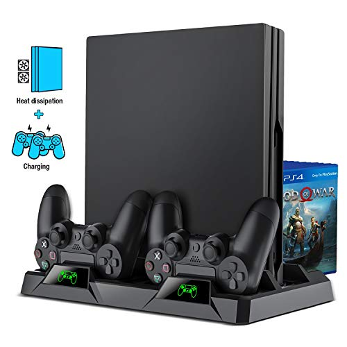 Beboncool : Dock PS4 chargeur avec ventilateur de refroidissement