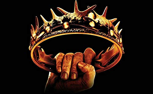 Couronne Game of Thrones Poster (A2 (594 x 420 mm))