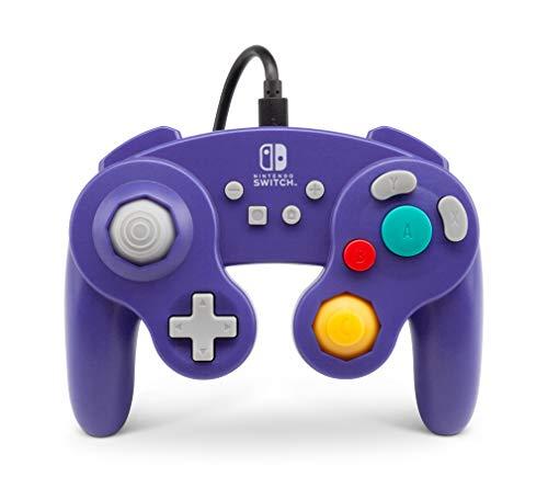 Manette filaire pour PowerA pour Nintendo Switch - GameCube Style Violet Nomai