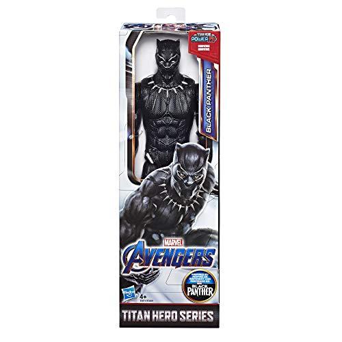 Marvel Avengers – Figurine Marvel Avengers Endgame Titan – Black Panther - 30 cm - Jouet Avengers