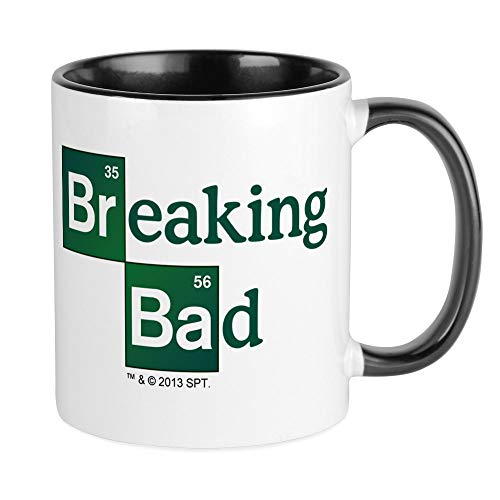 CafePress – Breaking Bad – Unique Mug à café, tasse à café, tasse à thé, White/Black Inside, S