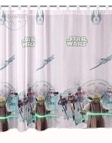 Rideaux Star Wars Jedi partie 75cm B x 157cm L Chambre rideau Disney