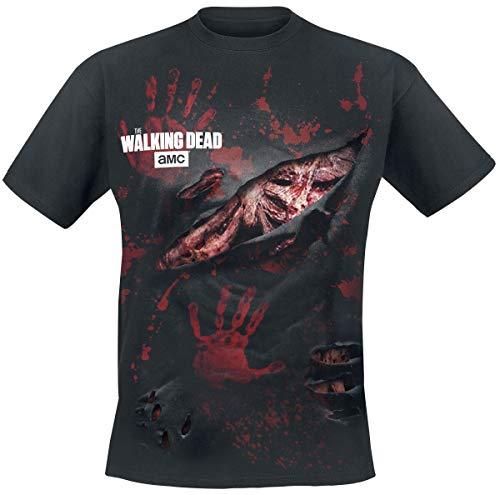 T-shirt de la série The Walking Dead zombie
