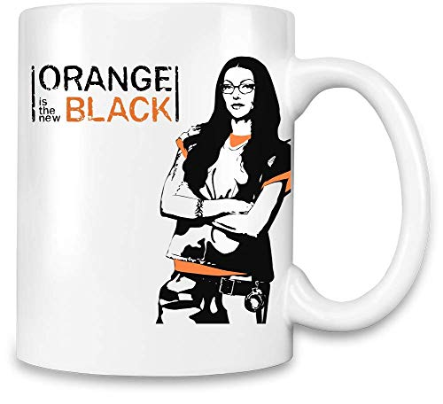 Orange Is the New Black Unique Coffee Mug | 11Oz Ceramic Cup| The Best Way To Surprise Everyone On Your Special Day| Custom Mugs