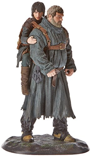 Figurine Games of thrones personnages Hodor et Bran