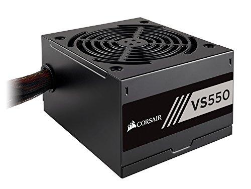 Corsair VS450 Alimentation (450 watts, Active PFC, certifiée 80 PLUS White) Noir gameover.fr