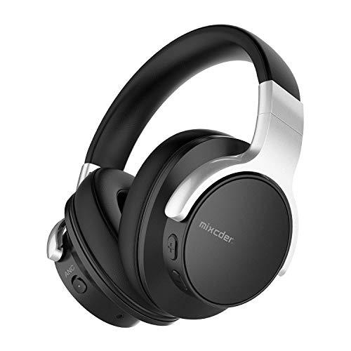 Casque sans Fil, Mixcder E7 Casque Bluetooth à Réduction de Bruit avec Micro CVC 8.0, Son Stéréo Hi-FI, Charge Rapide, 30H d'Autonomie pour Le Bureau/Les Voyages