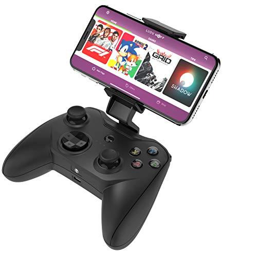 Rotor Riot - Contrôleur de Jeu et Manette de Jeu Dungeon, Compatible avec les Appareils iOS, Apple Arcade, iPhone via un Câble Lightning, Expérience de Jeu Optimale, 1000+ Applications, Aucune latence