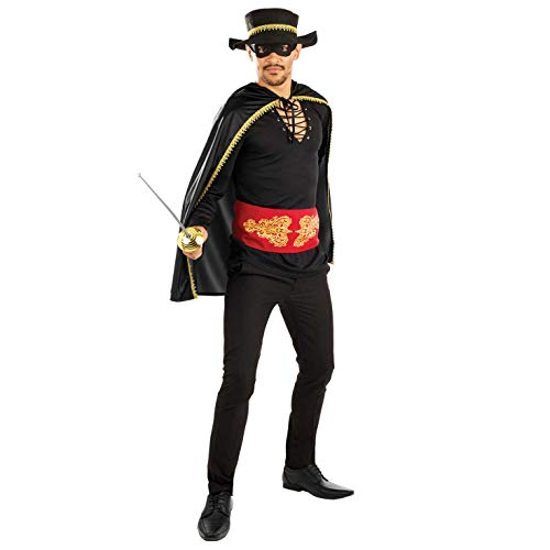 Costume Senor Bandit Zorro pour homme