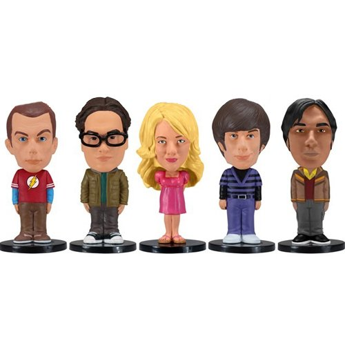Figurines Funko Pop pack 5 figurines The Big Bang Theory