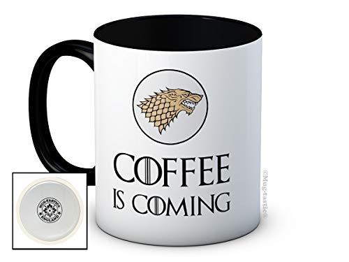 Coffee is Coming - Game of Thrones Parodie - de haute qualité tasse à thé café
