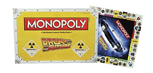 Jeu de plateau Monopoly Retour vers le futur