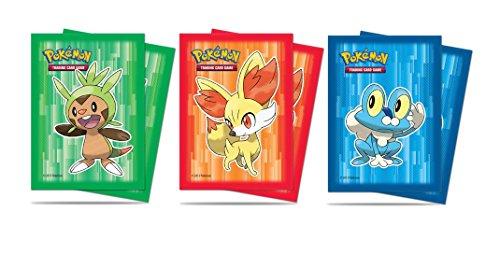 Pokémon - Jeux de Cartes - Protèges Cartes - Deck Protector Ultra Pro - Feunnec - Par 65