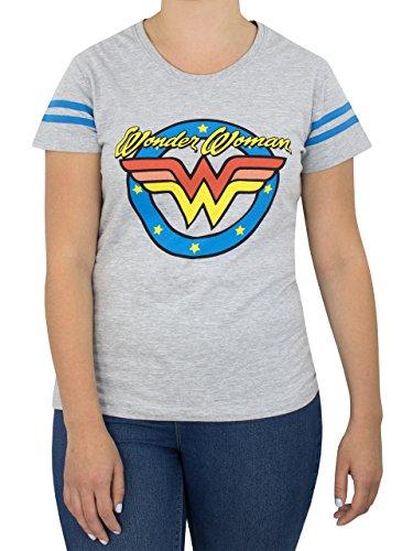 Wonder Woman - T-Shirt à Manches Courtes - Femme