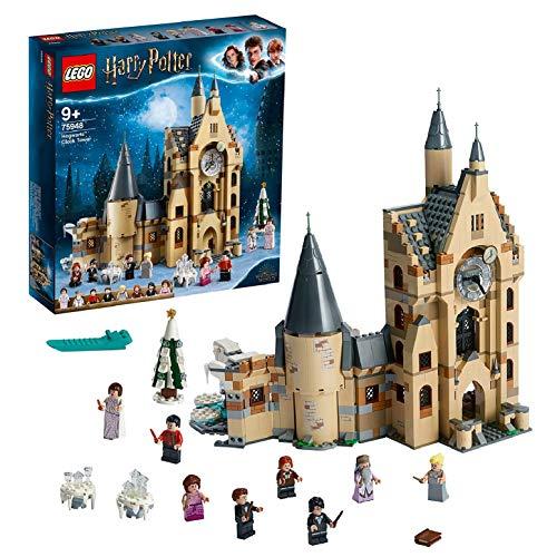 LEGO-Harry Potter La tour de l'horloge de Poudlard 9 Ans et Plus Jouet pour Fille et Garçon, 922 Pièces 75948