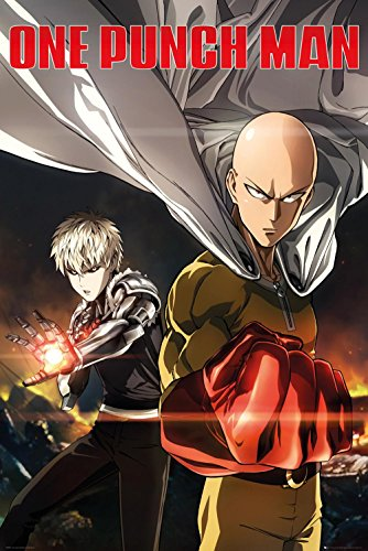 Up Close Poster One Punch Man - Genos & Saitama (61cm x 91,5cm)