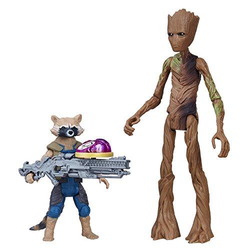 Figurine Marvel Avengers personnage Raccoon et Groot