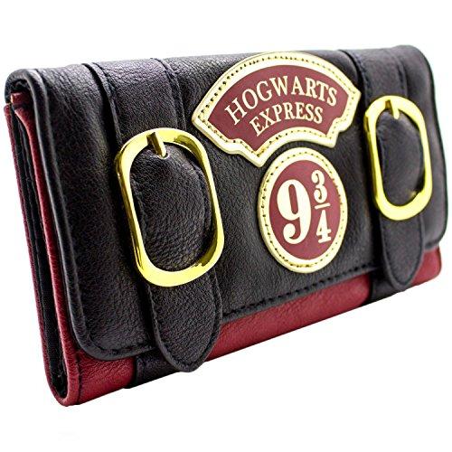 Portefeuille noir Poudlard express Harry Potter