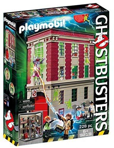 Jeu Playmobil Ghosbusters quartier général