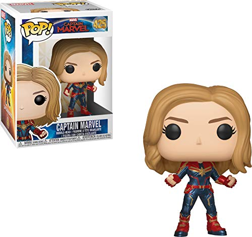 Figurine Funko Pop Marvel personnage Captain Marvel