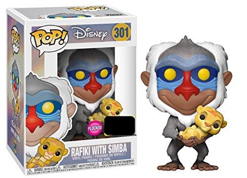 Figurine Funko Pop Disney personnages Rafiki et Simba