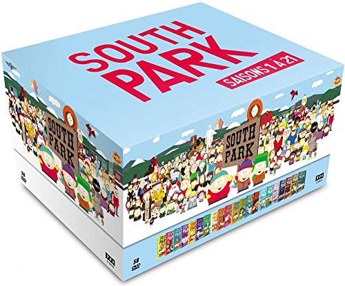 Coffret intégral de la série South Park saisons 1 à 21 DVD