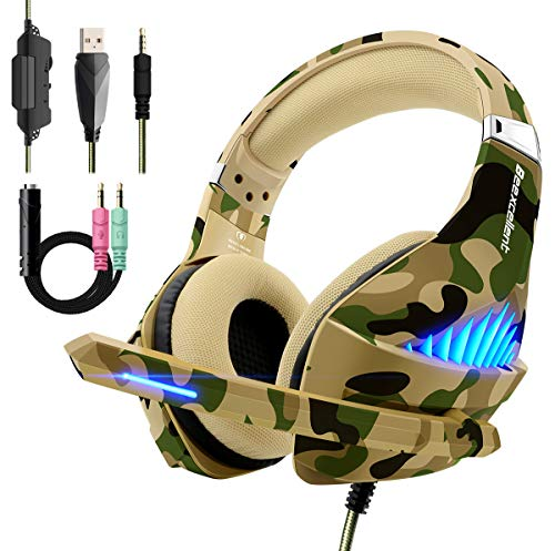Beexcellent casque gaming camouflage gameover.fr