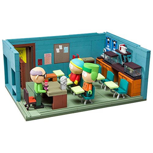 McFarlane- South Park Mr. Garrison's Classroom Jeu de Construction, 787926128994, 28 cm