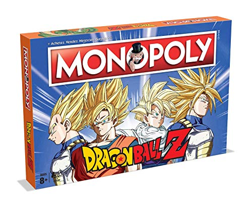 Jeu de plateau Monopoly Dragon Ball Z édition française