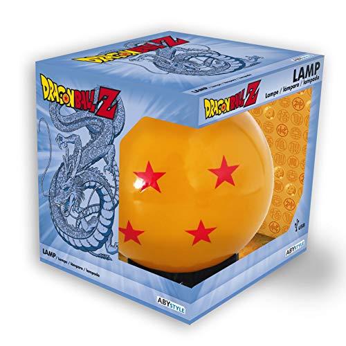 Lampe nomade LED boule de cristal Dragon Ball