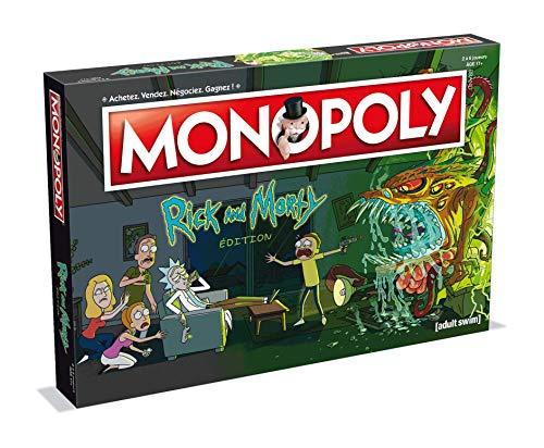 Jeu de société Monopoly Rick & Morty édition française