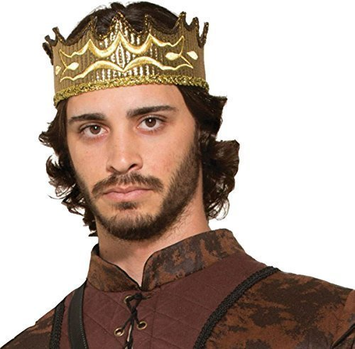 Royal Game Of Thrones Rois-mages Déguisement Noël Faux Médiévale Robe De Reve Couronne