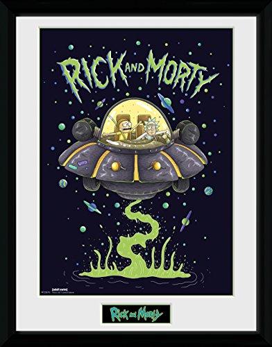 Photographie haute résolution Rick & Morty