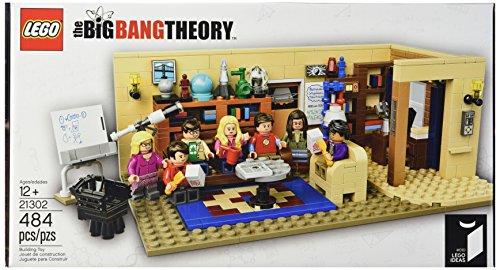 Salon de Léonard et Sheldon Lego The Big Bang Theory