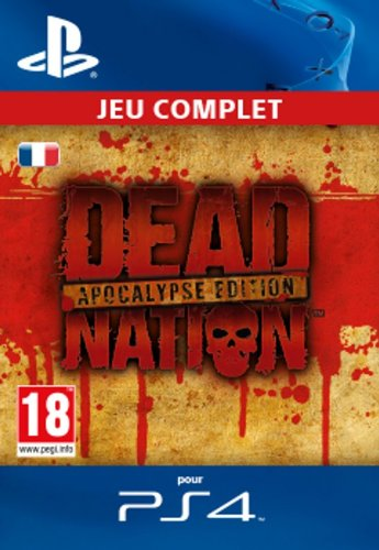 Dead Nation Apocalypse Edition [Code Jeu PSN PS4 - Compte français]