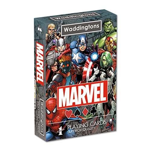 Jeu de cartes Super héros Marvel