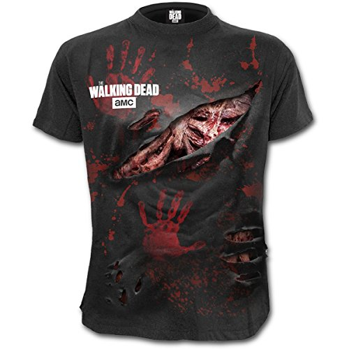 The Walking Dead Zombie - All Infected T-Shirt Manches Courtes Noir