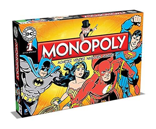 Jeu de plateau Monopoly DC Comics version française