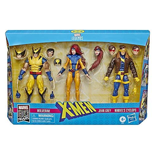 Figurines Marvel Legends 80ème anniversaire personnage X-Men