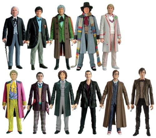 Character Option - Figurine - Docteur Who - Les Onze Docteurs