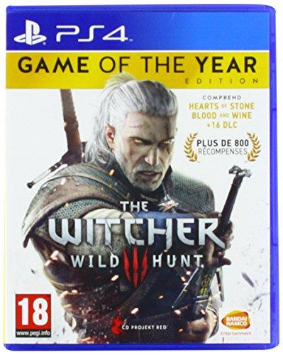 Jeu vidéo Sony PS4 The Witcher 3 Wild Hunt édition jeu de l'année