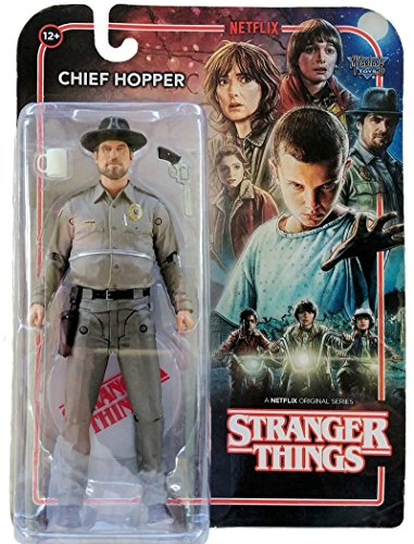CHIEF HOPPER STRANGER THINGS ACTION FIGURE